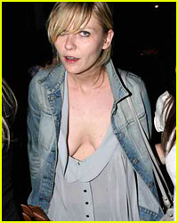 Kirsten Dunst Hits The Town