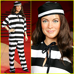 Lindsay Lohan is Prison Chic