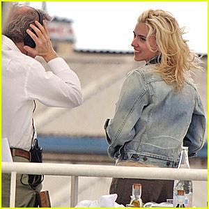 Scarlett Johansson Films Woody Allen Spanish Project