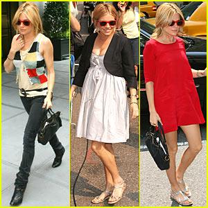 Sienna Miller Loves Her Red Sunglasses