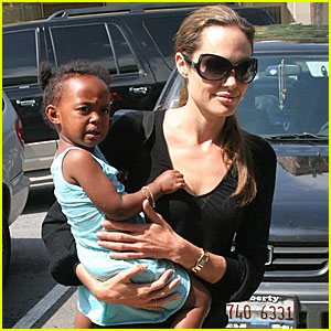 Angelina and Zahara go Toy Shopping!