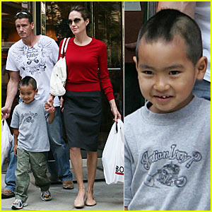 Angelina & Maddox are Not 'Beyond Borders'