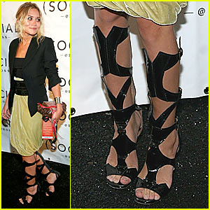 Ashley Olsen is Head Over Alaia Heels