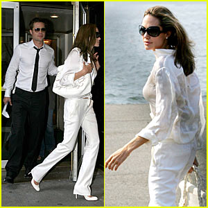 Brad & Angelina High Tail it to the Hamptons