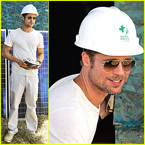 Brad Pitt's Global Green Home