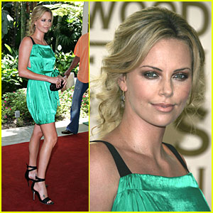Charlize Theron Goes Green
