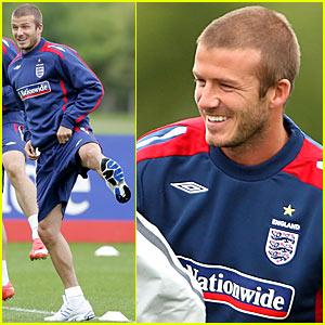 David Beckham: Stretching Made Sexy