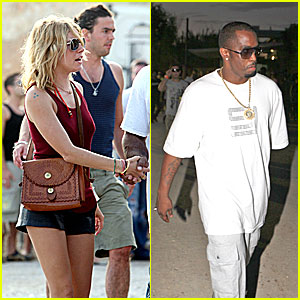 Sienna Gets Down with Diddy