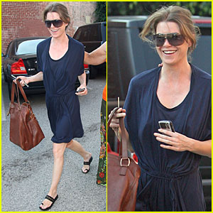 Ellen Pompeo's Los Angeles Lunch