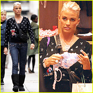Katie Price Goes on a Shopping Spree