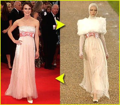 Fashion Faceoff: Chanel Couture Dress