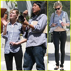 Director Dunst Shoots Short Film