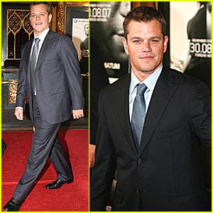 Matt Damon is Re-Bourne Again and Again