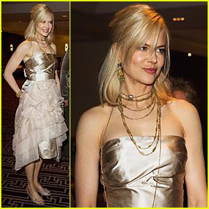 Nicole Kidman Celebrates White Ribbon Day