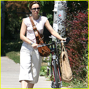 A Bike Ride with Rachel McAdams