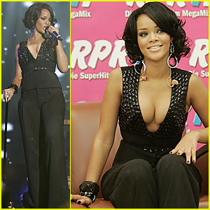 Rihanna Gets Going in Germany