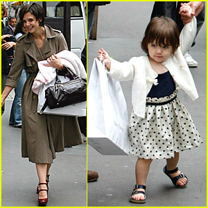 Suri's Shopping Spree in Paris