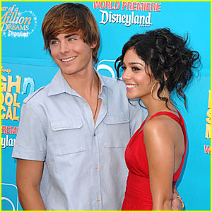 Zanessa @ High School Musical 2 Premiere