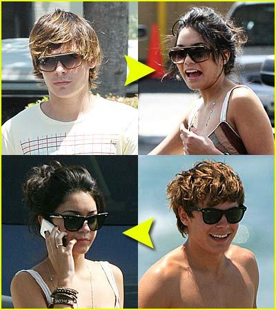 Zanessa Share Sunglasses!