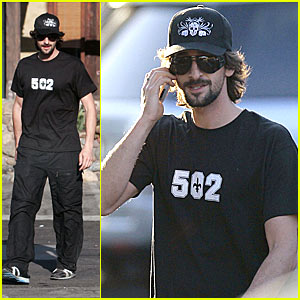 Adrien Brody: Hat's All Folks