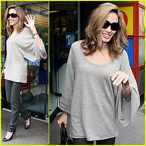 Angelina Jolie @ Toronto Toy Store
