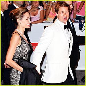 Brad & Angelina @ Venice Film Festival