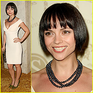Christina Ricci Has Super Short Hair