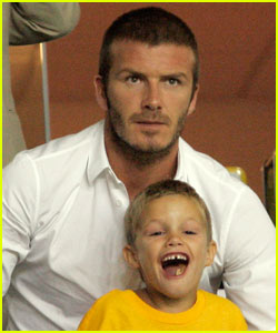 David Beckham: I'm a Bad Armchair Fan