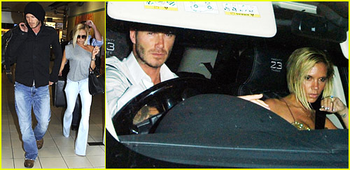 David Beckham Flying Home, Father Doing Well