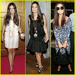 Demi Moore @ NY Fashion Week 2007