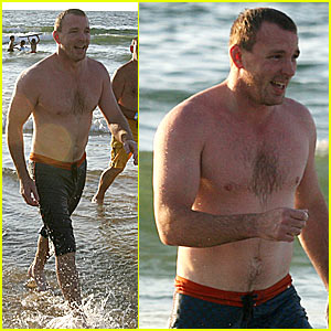 Guy Ritchie is Shirtless