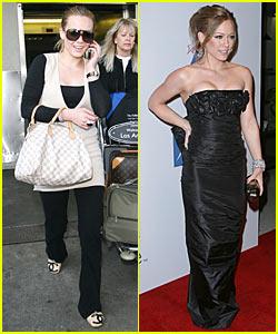 Hilary Duff Celebrates 20th Birthday