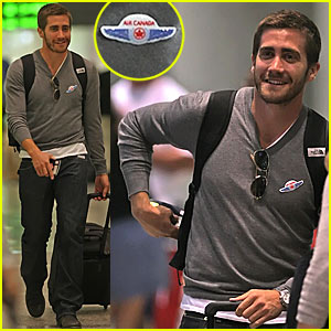 Jake Gyllenhaal Loves Air Canada