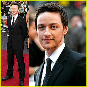 James McAvoy is Quite the Looker in London