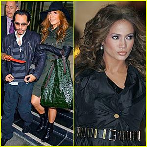 Jennifer Lopez Belts Up in Balenciaga