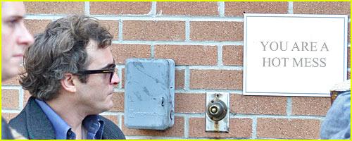 Joaquin Phoenix: I am a Hot Mess