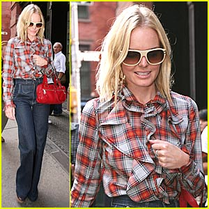 Kate Bosworth is Pretty in Plaid