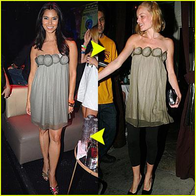 Fashion Faceoff: Alice + Olivia Dress