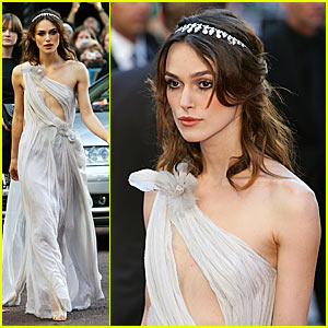 Keira Knightley's Revealing Dress Shocker