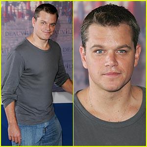 Matt Damon @ American Film Festival