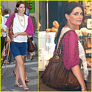 Mischa Barton Gets Ruffled Up