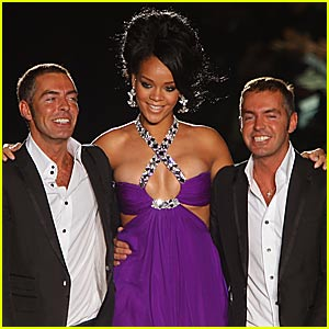 Rihanna Struts Down Dsquared2 Runway