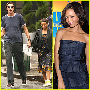 Thandie Newton's Mystery Male