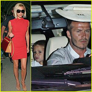 Beckham Family Dinner @ Mastro's