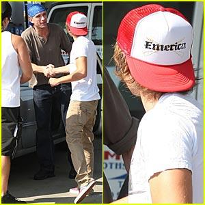 Zac Efron Meets Peter Greene