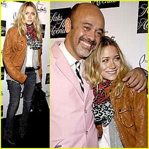 Ashley Olsen Welcomes Christian Louboutin