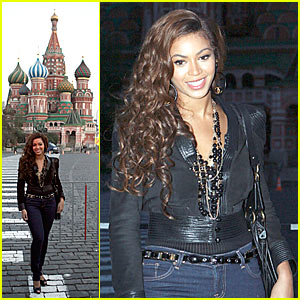Beyonce's Mission in Moscow