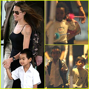 Angelina's New York Minute