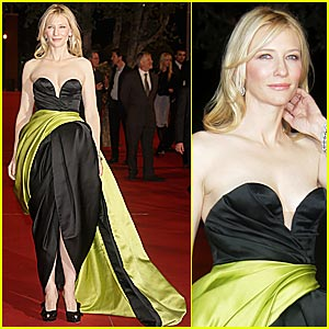 Cate Blanchett is the Black and Green Goddess