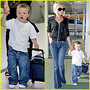 Cruz Beckham Bounces Back to L.A.